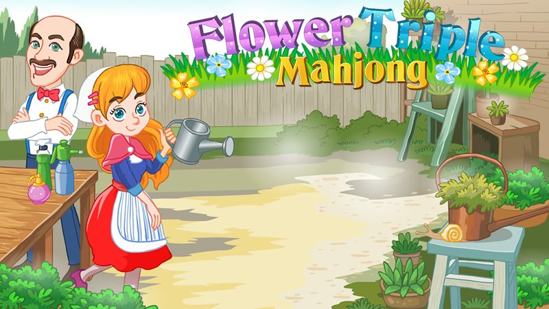Image Flower Triple Mahjong